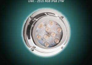 UWL - Zeus RGB IP68 27W